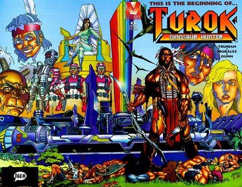 Turok, Dinosaur Hunter Vol. 1 #0 – 47 (1995-1996)
