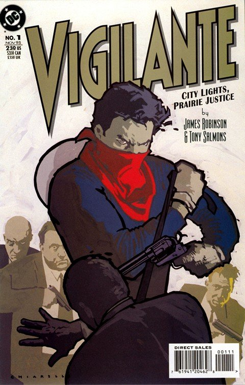 Vigilante – City Lights, Prairie Justice #1 – 4