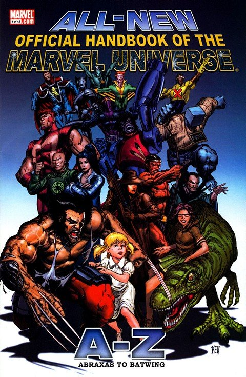 Official Handbook of the Marvel Universe (Collection) (1983-2010)