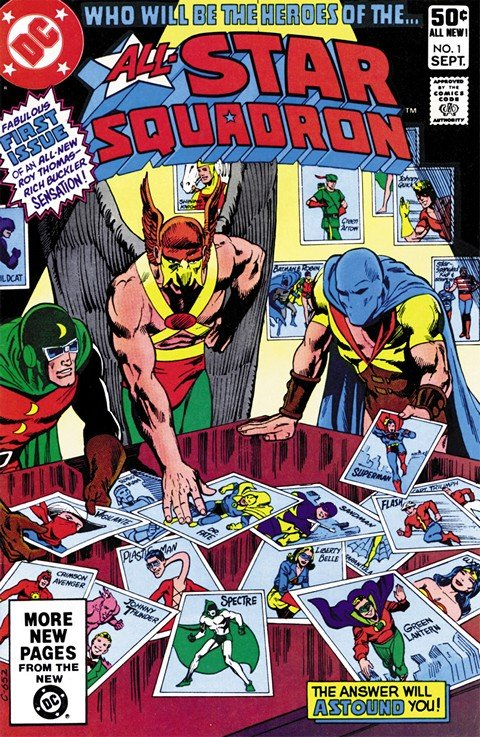 All-Star Squadron #1 – 67 + Annuals #1 – 3