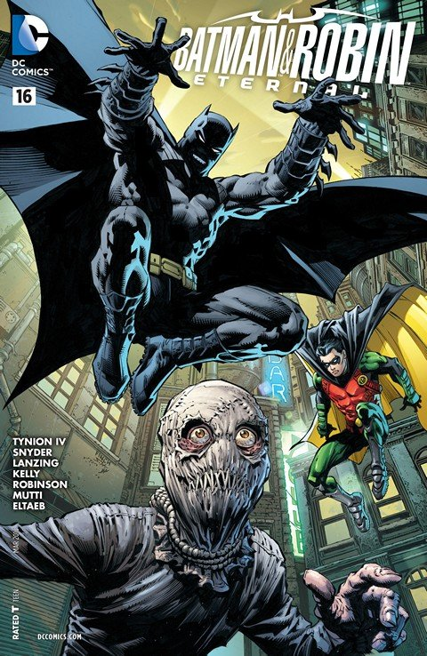 Batman & Robin Eternal #16