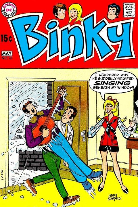 Binky #72 – 82