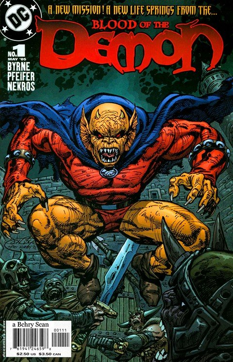 Blood of the Demon #1 – 13 (2005-2006)