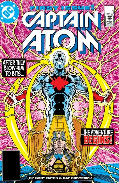 Captain Atom Vol. 3 #1 – 57 + Annual #1 – 2 (1986-1991)