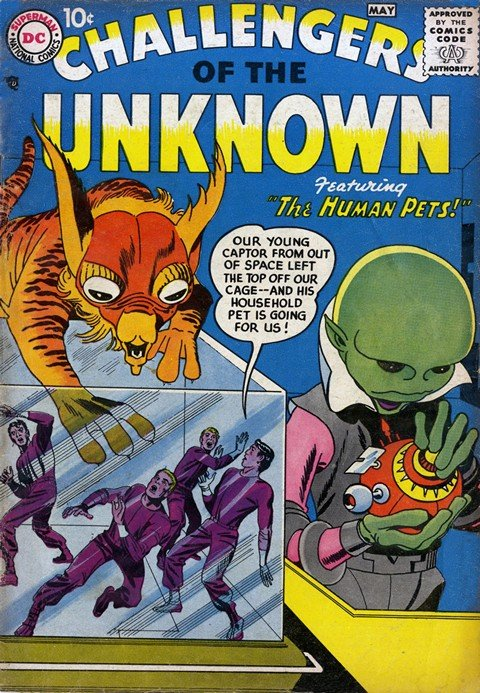 Challengers of the Unknown Vol. 1 – 4 (Collection)