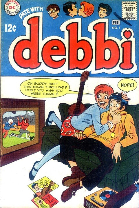 Date With Debbi #1 – 18 (1969-1972)
