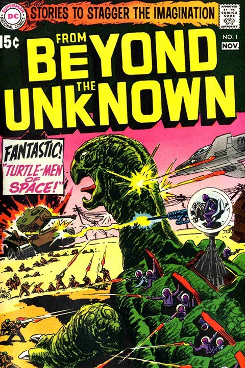 From Beyond the Unknown #1 – 25 (1969-1973)