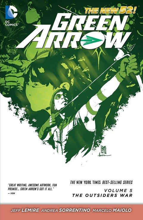 Green Arrow Vol. 5 (New 52 TPB) – Vol. 1 – 9 (2012-2016)