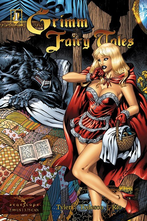 Grimm Fairy Tales #1 – 122 (2005-2016)