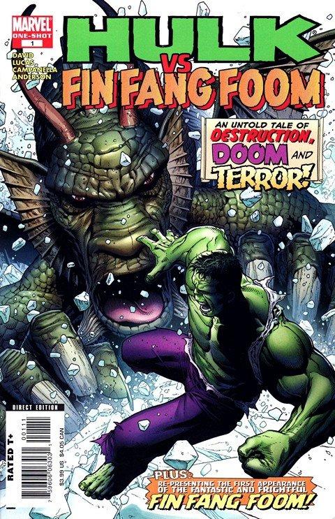 Hulk vs. Fin Fang Foom #1