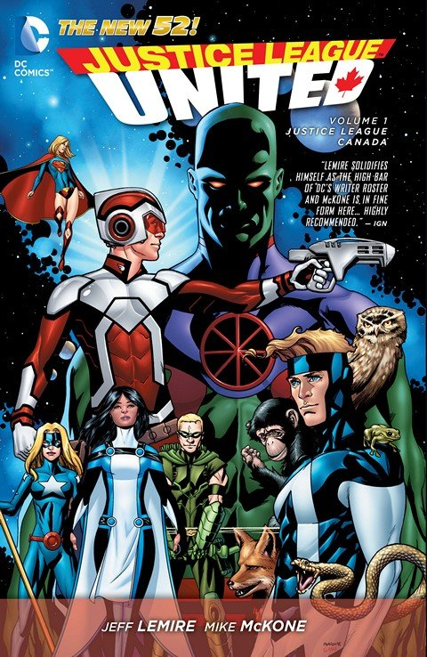 Justice League United Vol. 1 – Justice League Canada