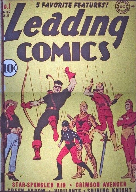 Leading Comics #1 – 41 (1941-1950)