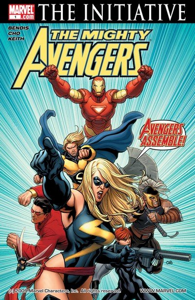 Mighty Avengers Vol. 1 #1 – 36 (2007-2010)