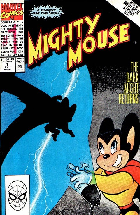Mighty Mouse #1 – 10