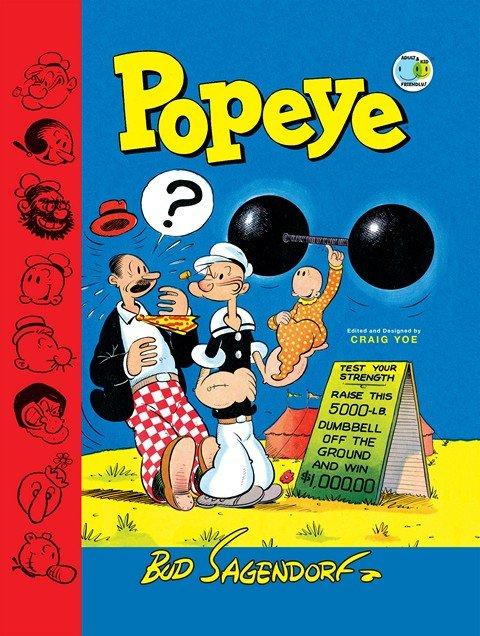 Popeye Classics Vol. 1 – 11 (TPB) (2013-2017)