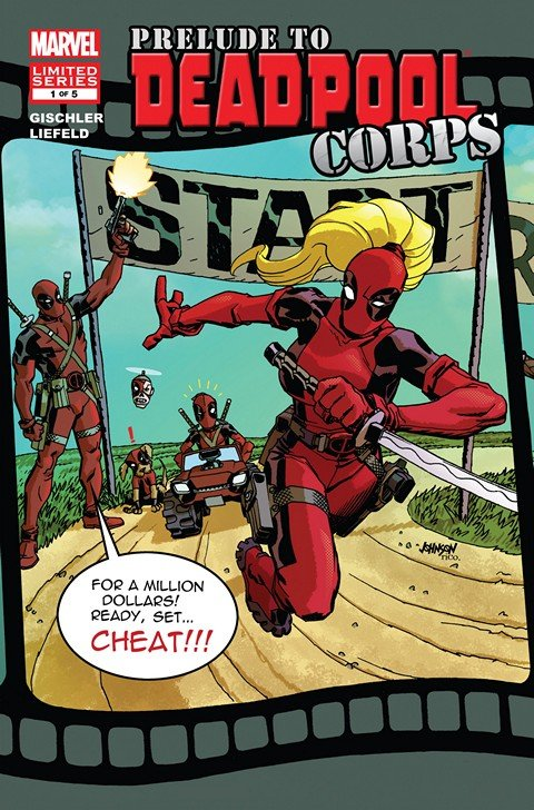 Prelude to Deadpool Corps #1 – 5