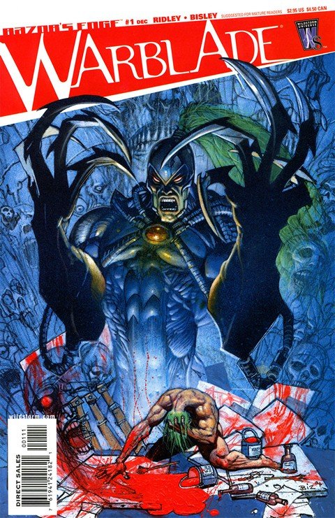 Razor's Edge-Warblade #1 – 5
