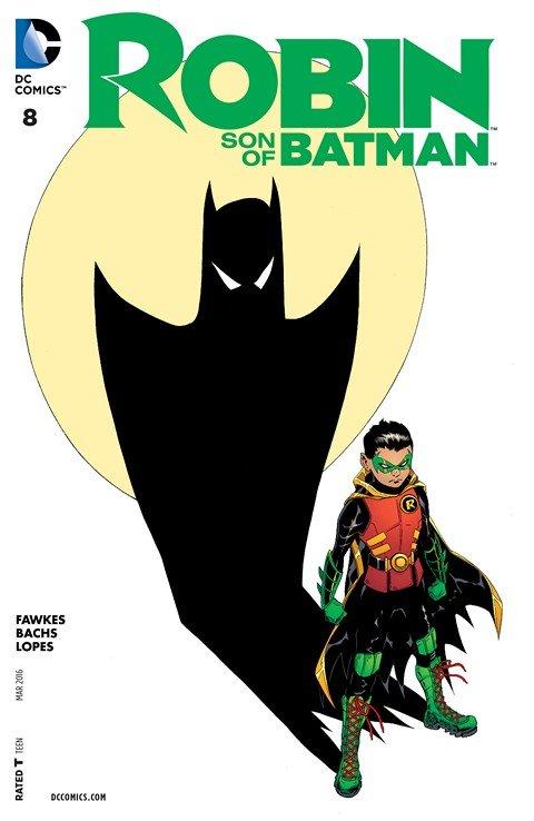 Robin – Son of Batman #8