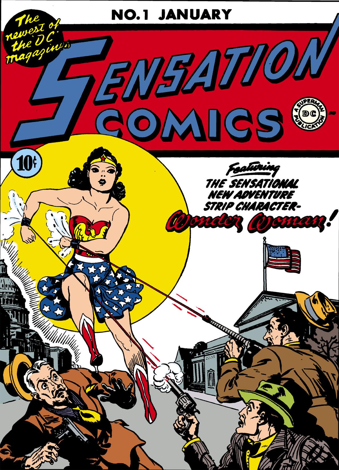 Sensation Comics Vol. 1 #1 – 116 (1942-1953)