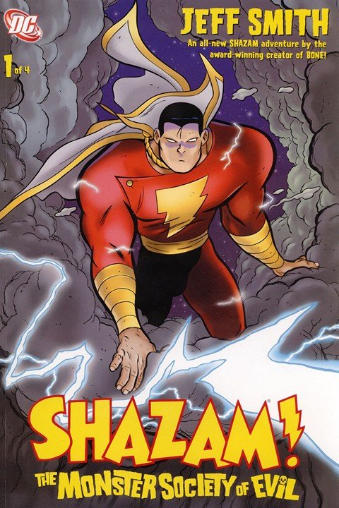 Shazam! – The Monster Society Of Evil #1 – 4