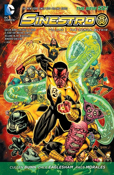 Sinestro Vol. 1 – The Demon Within