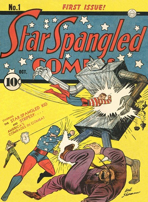 Star Spangled Comics #1 – 130