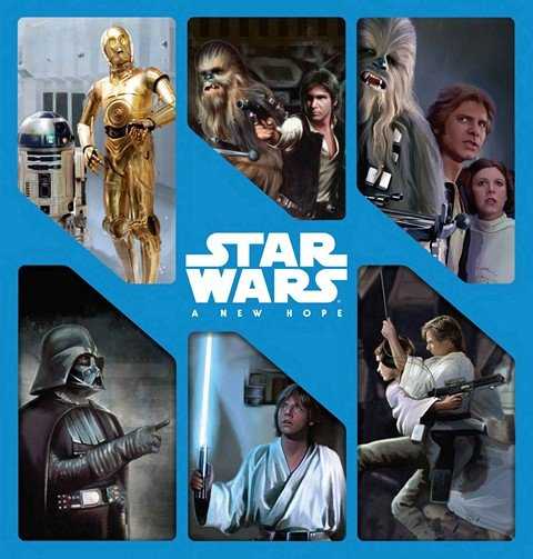 Star Wars – A New Hope – 6 stories in 1