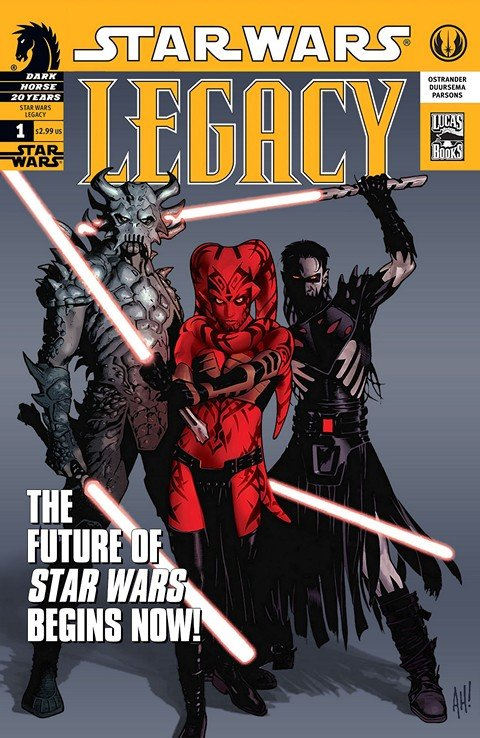 Star Wars – Legacy #0 – 50 + War #1 – 6