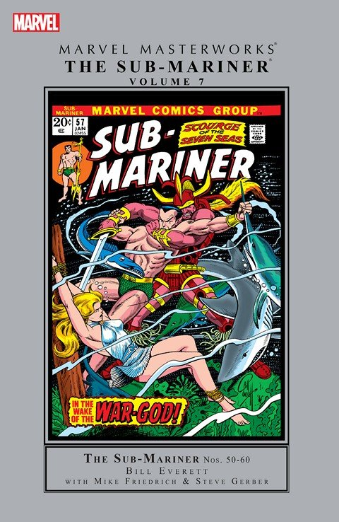 Sub-Mariner – Marvel Masterworks Vol. 7