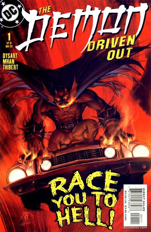 The Demon – Driven Out #1 – 6 (2003-2004)