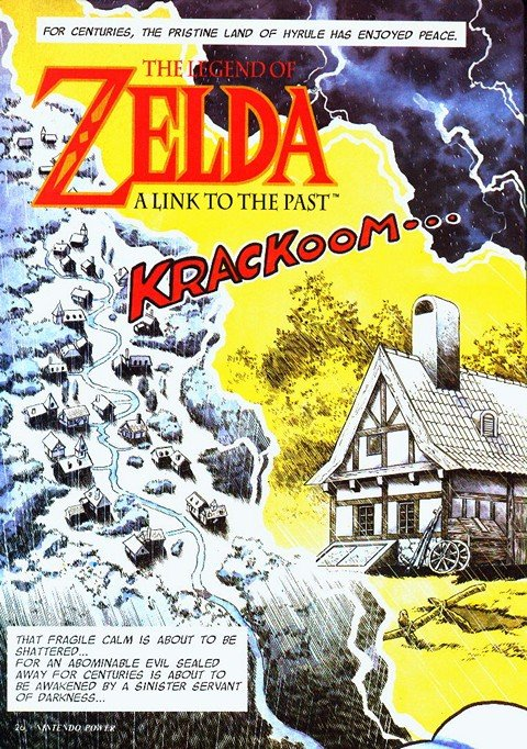 The Legend of Zelda – A Link to the Past (Chapters #1 – 12)