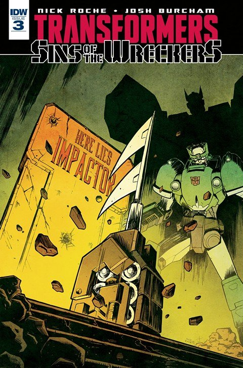 The Transformers – Sins of the Wreckers #3