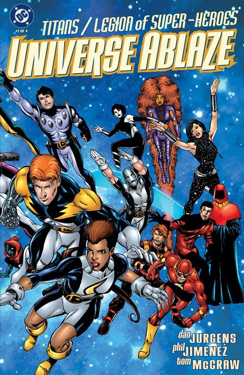 Titans-Legion of Super-Heroes – Universe Ablaze #1 – 4