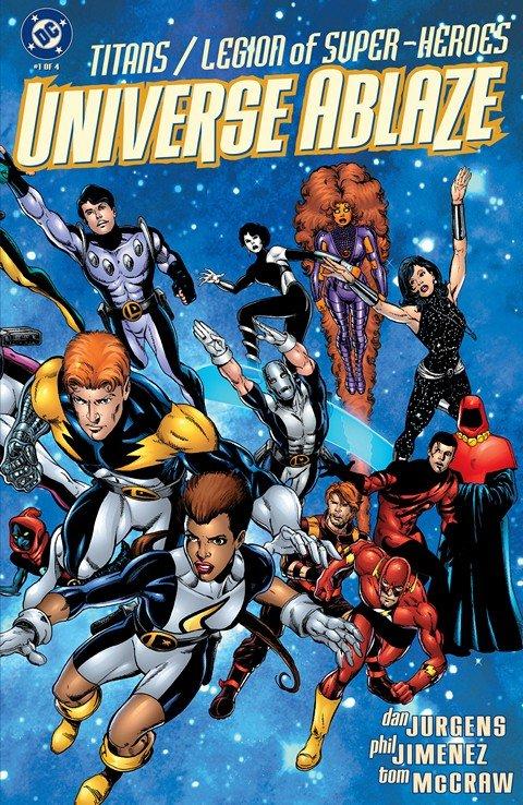 Titans-Legion of Super-Heroes – Universe Ablaze #1 – 4 (1999-2000)