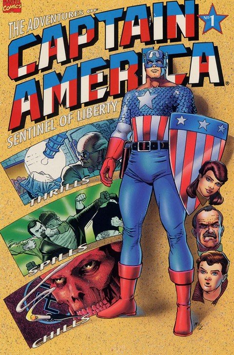 Adventures of Captain America – Sentinel of Liberty #1 + 3 – 4