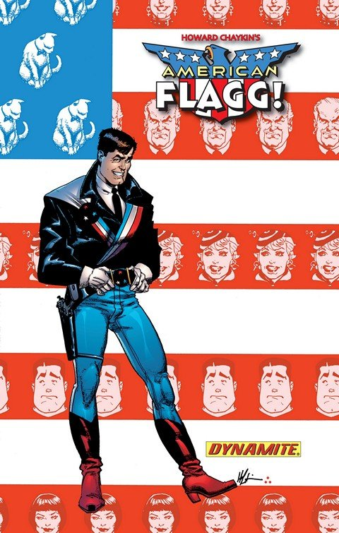American Flagg! Definitive Collection