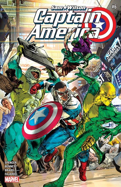Captain America – Sam Wilson #6