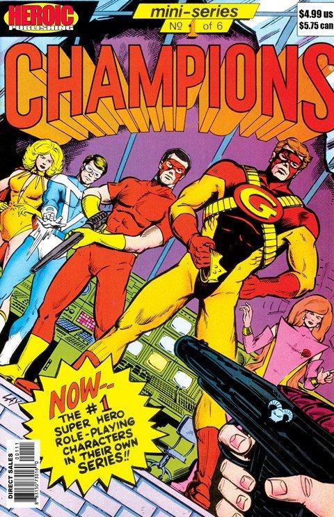 Champions Vol. 1 – 5 + Champions Adventures
