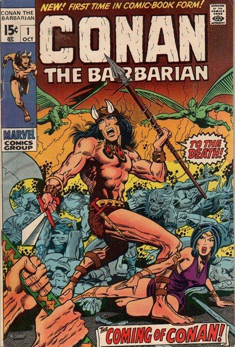Conan the Barbarian (Marvel Collection) (1970-1993)