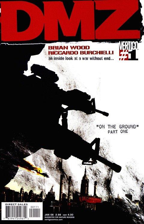 DMZ #1 – 72 + TPB Vol. 1 – 12 + Deluxe Books (2006-2012)
