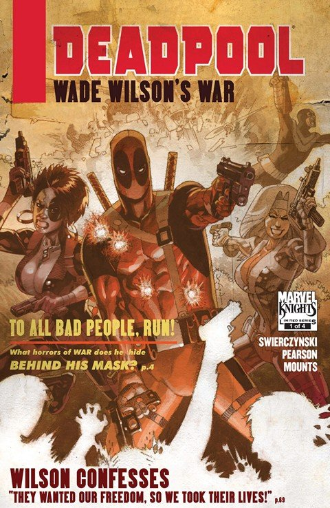 Deadpool – Wade Wilson's War #1 – 4 + TPB (2010)