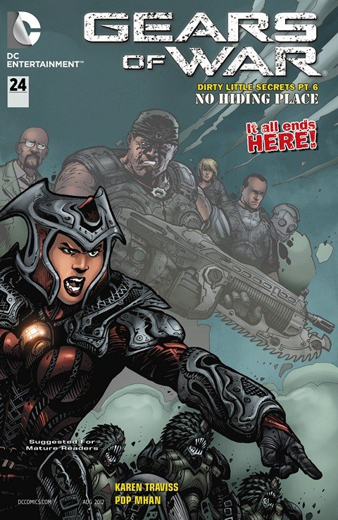 Gears of War #15 – 24 (2012-2014)