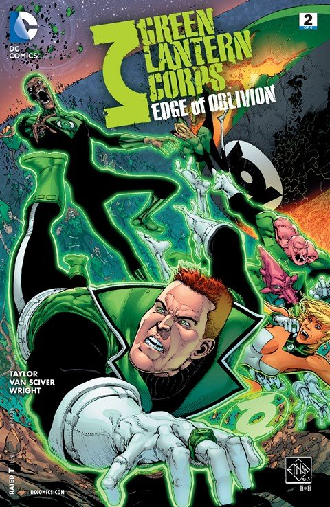 Green Lantern Corps – Edge of Oblivion #2