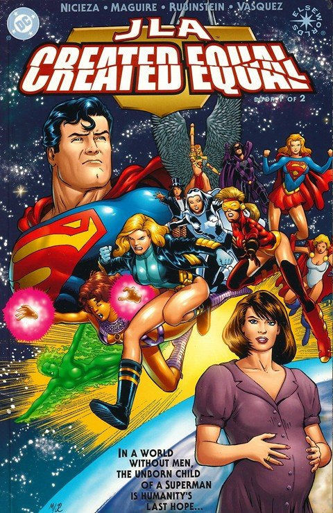 JLA – Created Equal #1 – 2