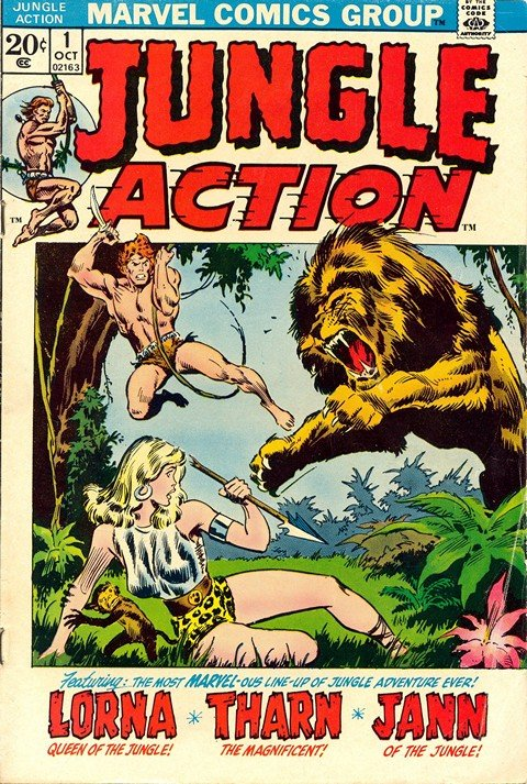 Jungle Action Vol. 2 #1 – 24