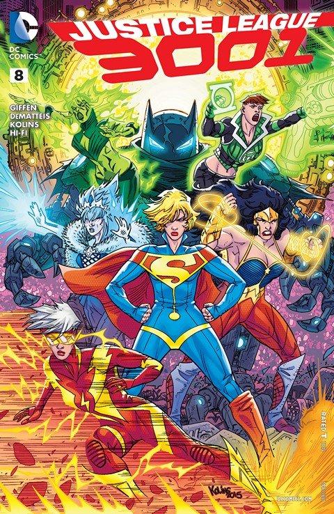 Justice League 3001 #1 – 8