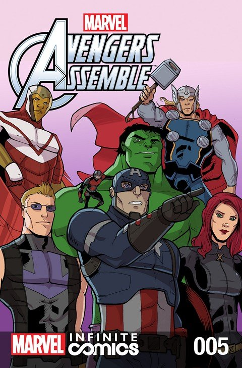 Marvel Universe Avengers Assemble Infinite Comic #5