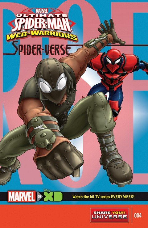 Marvel Universe Ultimate Spider-Man – Web-Warriors – Spider-Verse #4