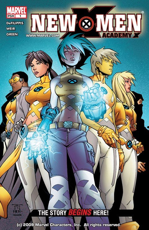 New X-Men Vol. 2 #1 – 46 + TPB Vol. 1 – 10 (2004-2016)