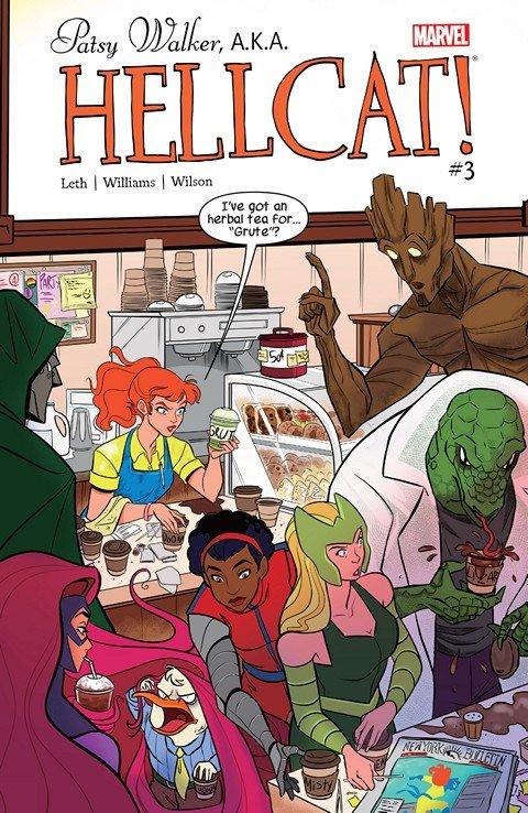 Patsy Walker, A.K.A. Hellcat! #3